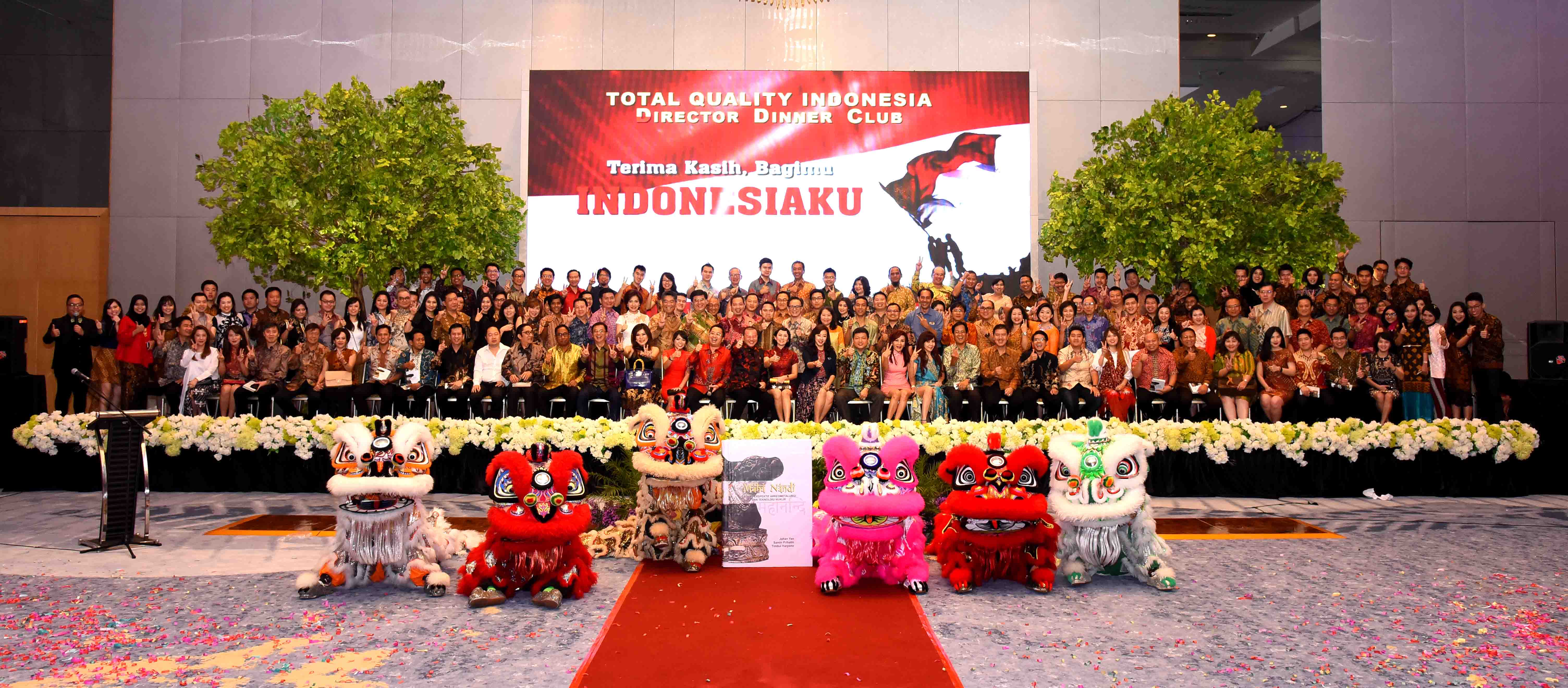 Director Dinner Club : Terima Kasih, Bagimu Indonesiaku